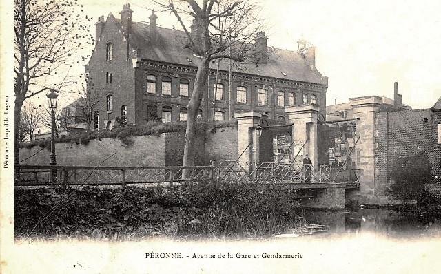 Peronne somme la gendarmerie cpa