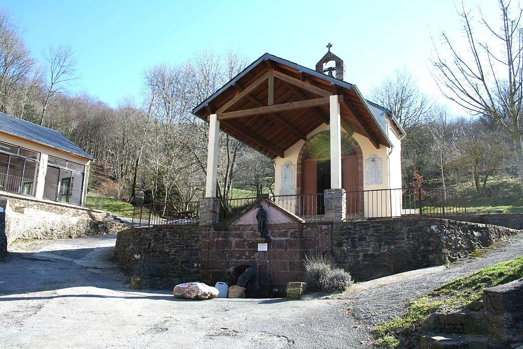 Peux-et-Couffouleux (Aveyron) Saint Meen, chapelle