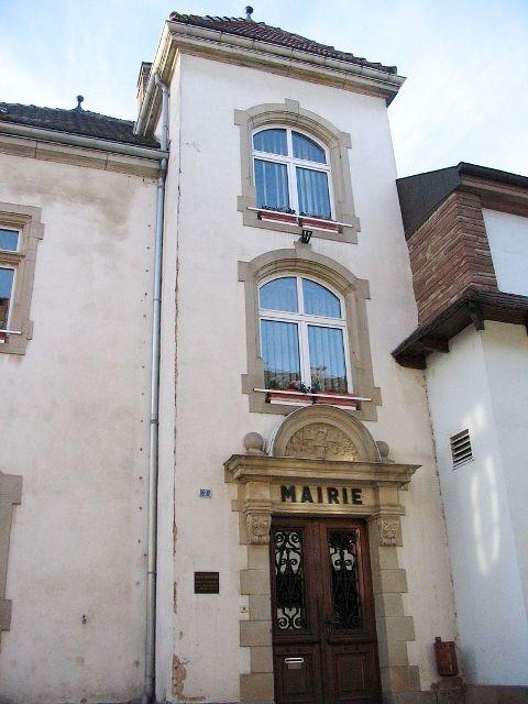 Pfettisheim 67 l ancienne mairie