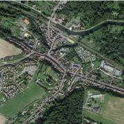 Picquigny somme vue satellite