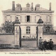 Pouilly-sur-Loire (Nièvre) L'école des garçons CPA