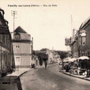 Pouilly-sur-Loire (Nièvre) L'hôtel du Cygne CPA