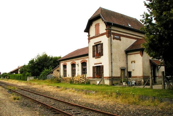 Pouilly-sur-Meuse (Meuse) La gare