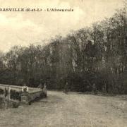 Prasville (28) L'abreuvoir CPA