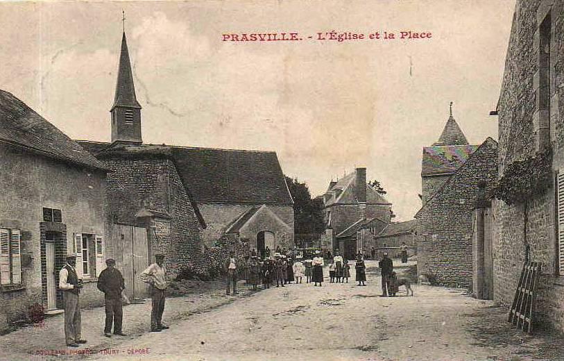 Prasville (28) La place CPA