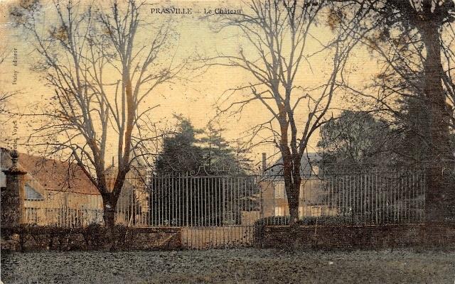 Prasville (28) Le château CPA