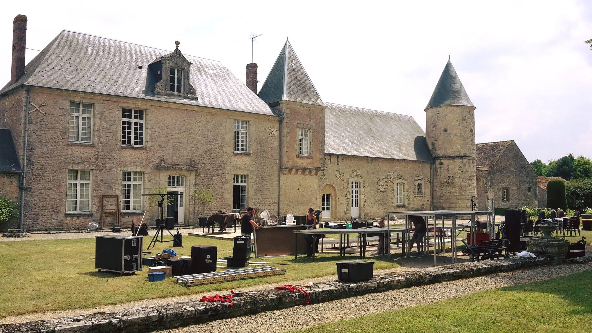 Prasville (28) Le château