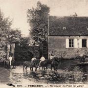 Prémery (Nièvre) L'abreuvoir du Pont de Varzy CPA