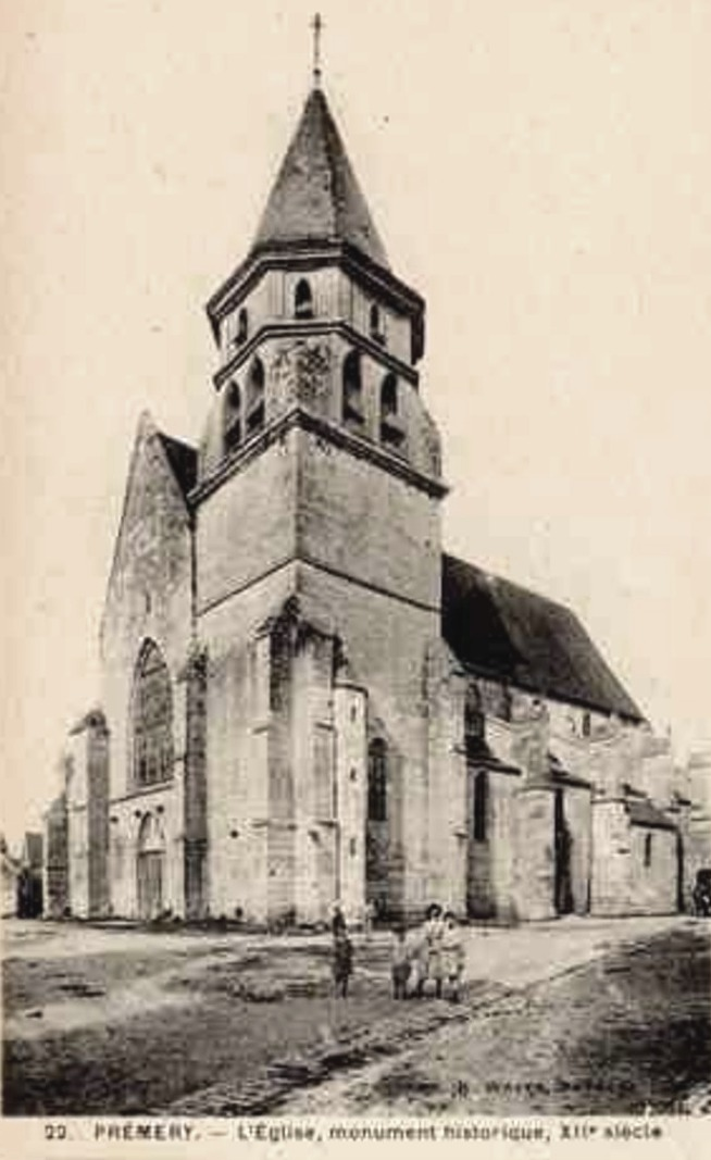 Prémery (Nièvre) L'église Saint Marcel CPA