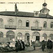 Prémery (Nièvre) L'Hôtel de ville CPA