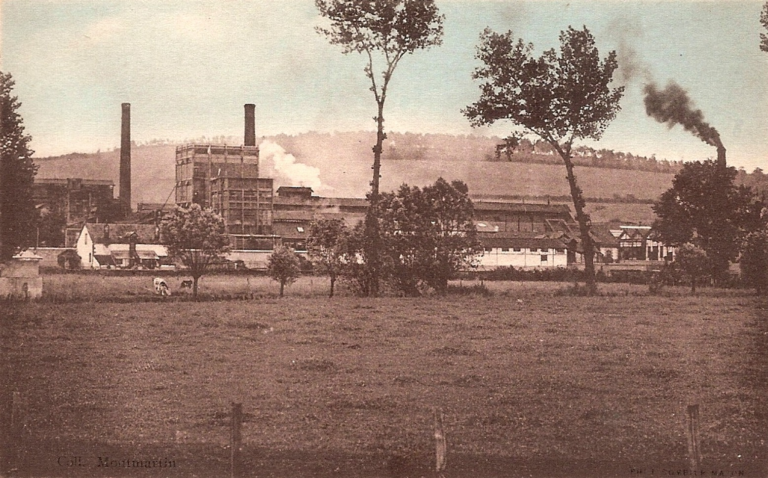 Prémery (Nièvre) L'usine CPA