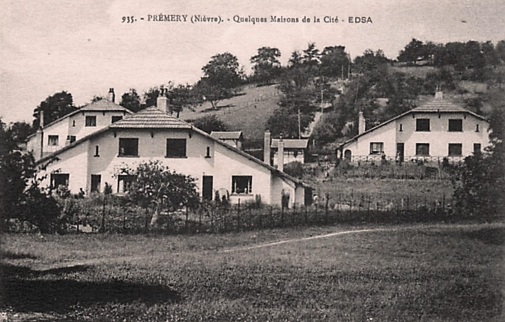 Prémery (Nièvre) La cité CPA