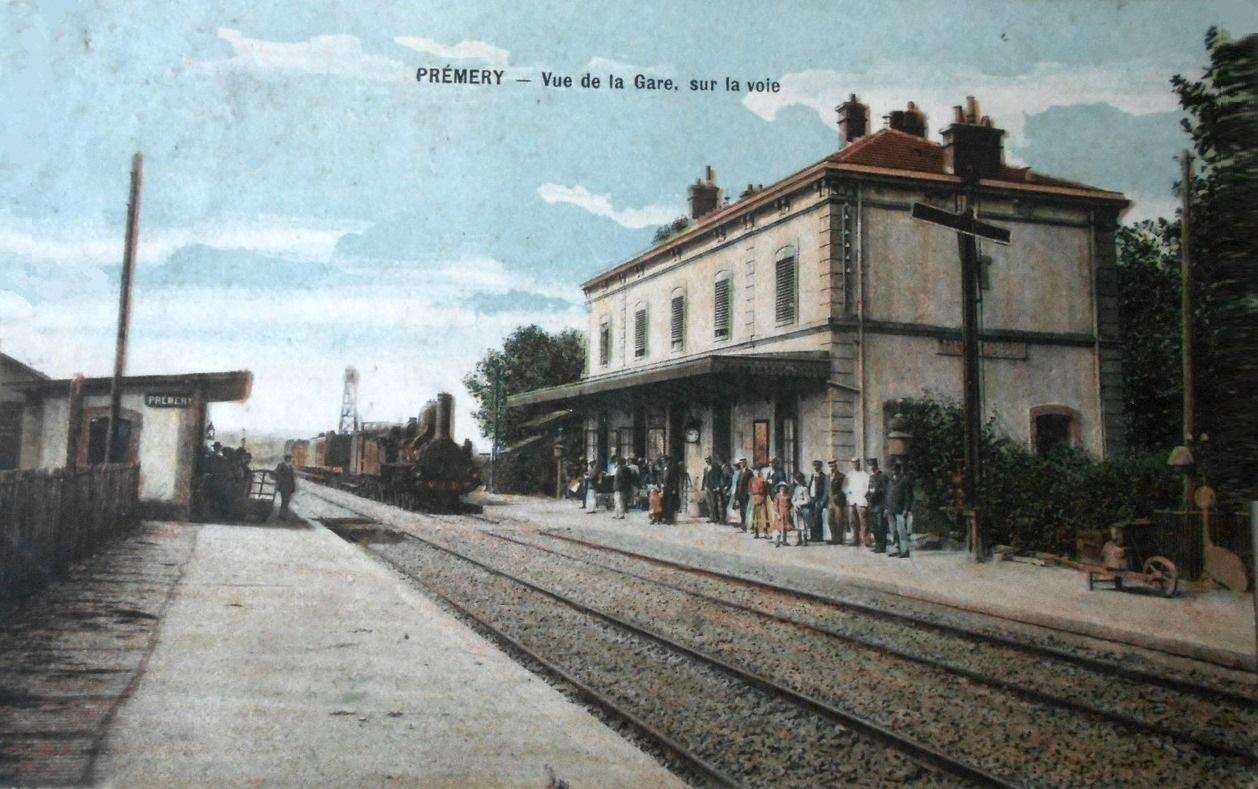 Prémery (Nièvre) La gare CPA
