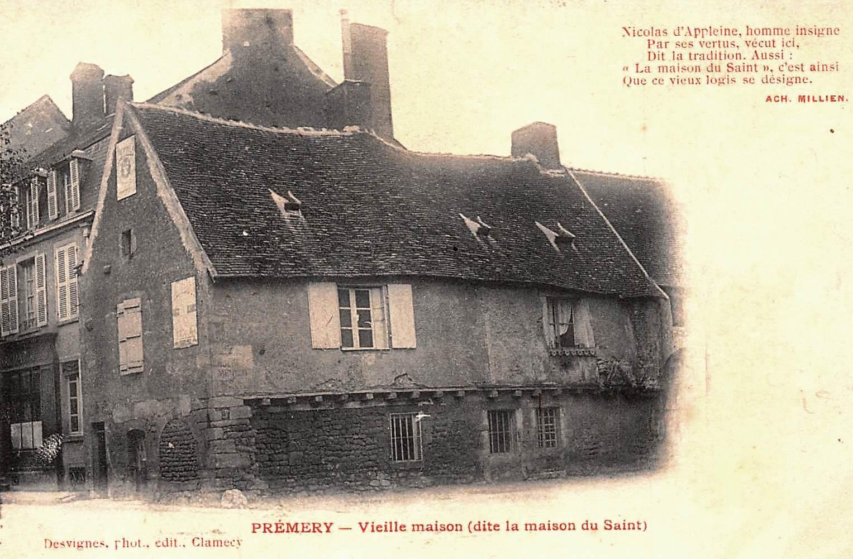 Prémery (Nièvre) La maison de Nicolas Appeleine CPA
