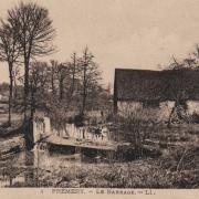 Prémery (Nièvre) Le barrage CPA