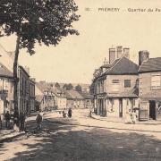 Prémery (Nièvre) Le quartier du pont de Nevers CPA