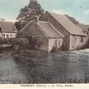 Prémery (Nièvre) Le vieux moulin à eau CPA