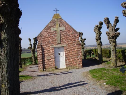 Prémont (Aisne) Chapelle Notre-Dame des 7 douleurs