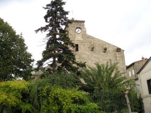 Puilacher (Hérault) L'église de la Sainte Trinité