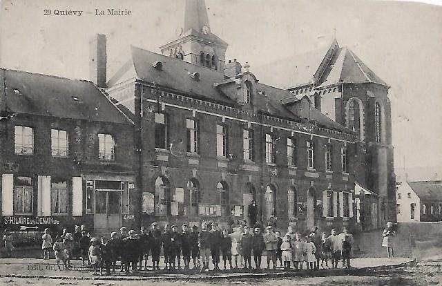 Quievy 59 la mairie cpa
