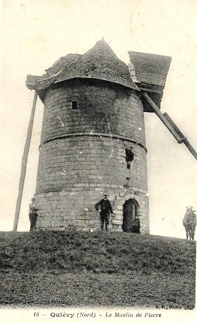 Quievy 59 un moulin cpa