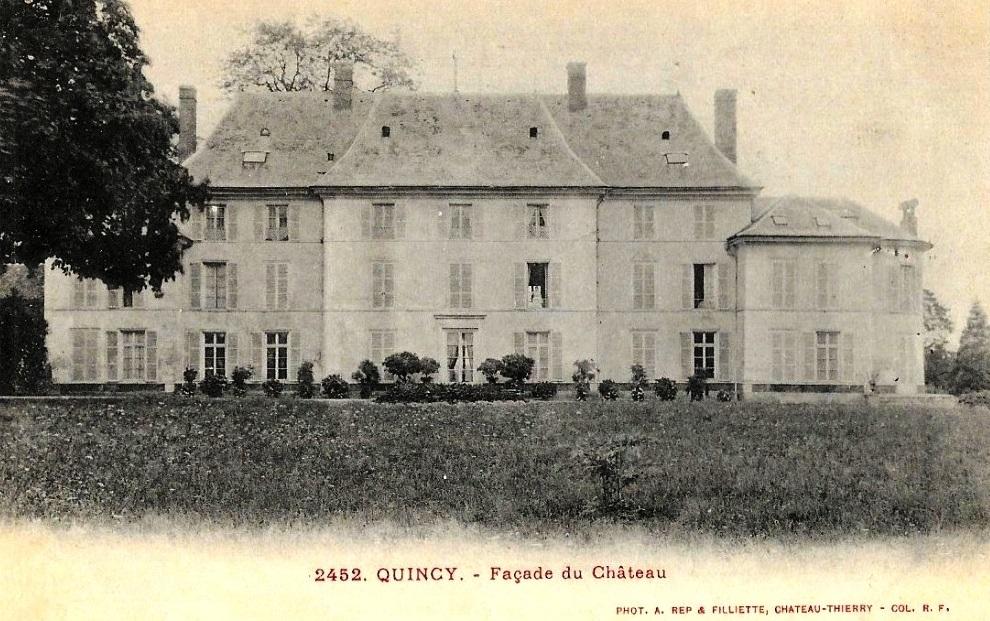 Quincy (Cher) Le château CPA