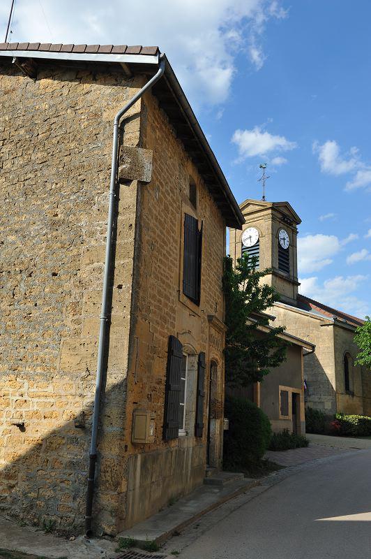 Quincy-Landzécourt (Meuse) L'église Saint-Martin