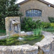 Quincy-Landzécourt (Meuse) La fontaine