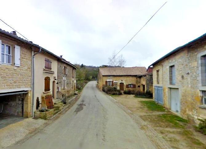 Quincy-Landzécourt (Meuse) La rue de la Brassine