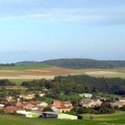 Quincy-Landzécourt (Meuse) Vue générale