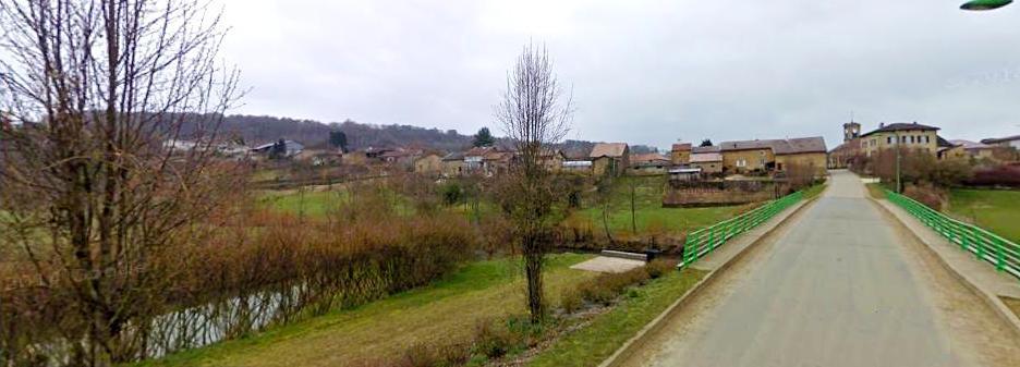 Quincy-Landzécourt (Meuse) Vue panoramique