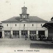Reims 51 l abattoir cpa