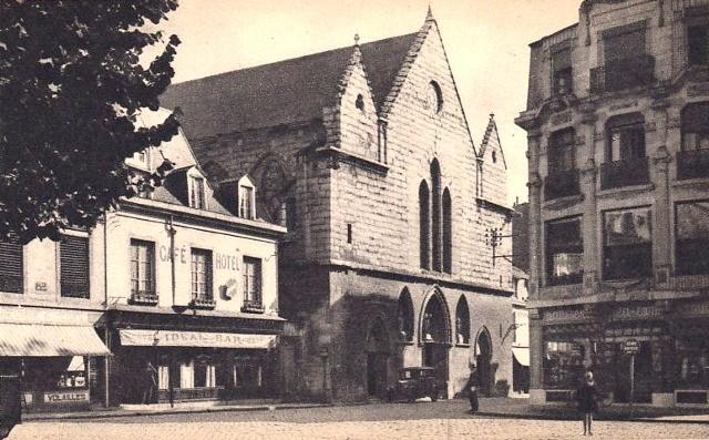 Reims 51 l eglise saint jacques cpa