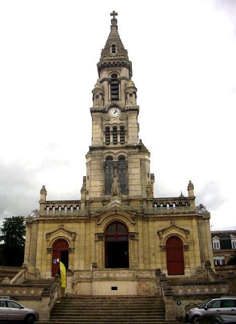 Reims 51 l eglise sainte genevieve