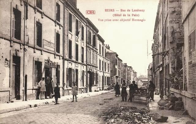 Reims 51 l hotel de la paix cpa