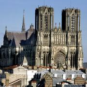 Reims 51 la cathedrale notre dame