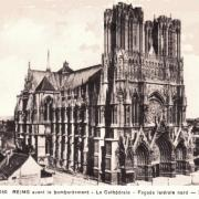 Reims 51 la cathedrale notre dame cpa