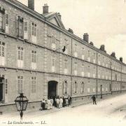 Reims 51 la gendarmerie cpa