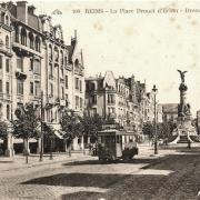Reims 51 la place drouet d erlon cpa