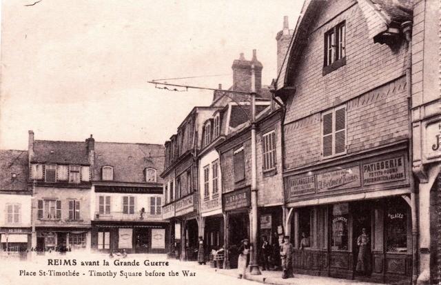 Reims 51 la place saint timothee cpa