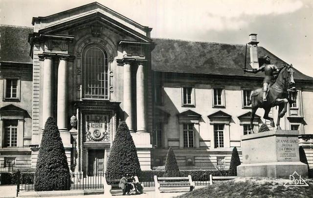Reims 51 le palais de justice cpa