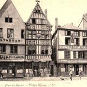 Reims 51 les vieilles maisons cpa