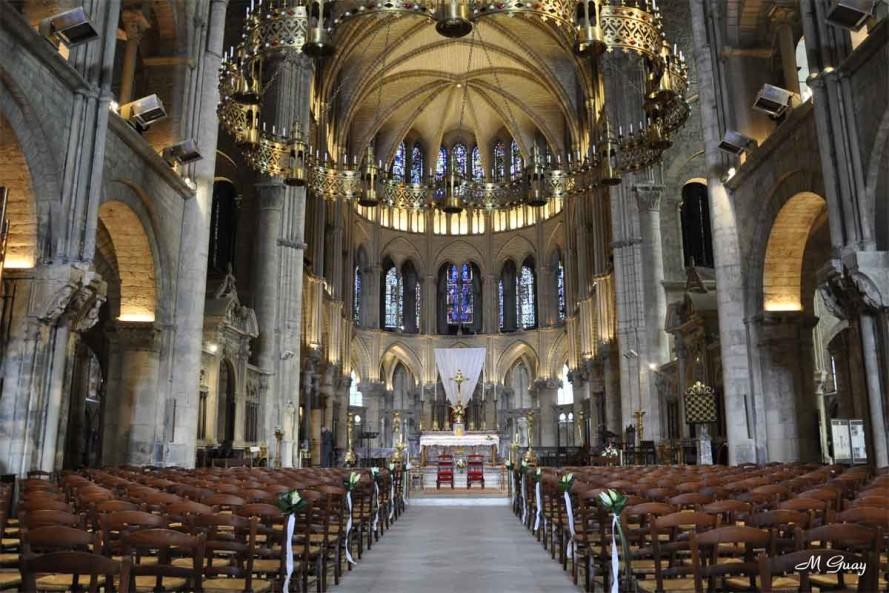 Reims (Marne) Abbaye Saint-Rémi