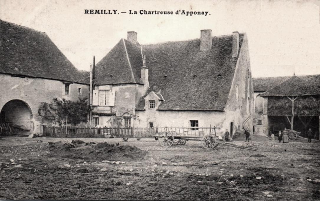 Rémilly (Nièvre) L'ancienne chartreuse d'Apponay CPA