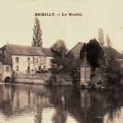 Rémilly (Nièvre) Le moulin CPA
