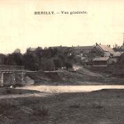 Rémilly (Nièvre) Vue générale CPA