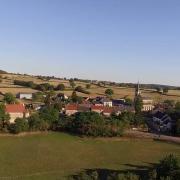 Rémilly (Nièvre) Vue générale