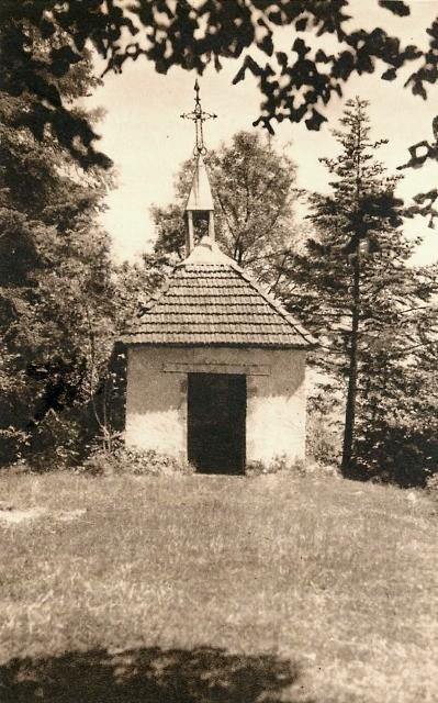 Remiremont 88 la chapelle du saint mont cpa