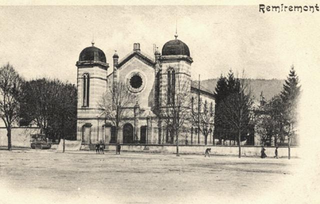 Remiremont 88 la synagogue cpa