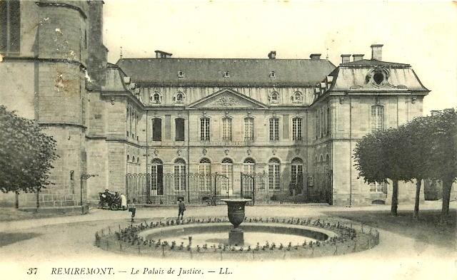 Remiremont 88 le palais de justice cpa